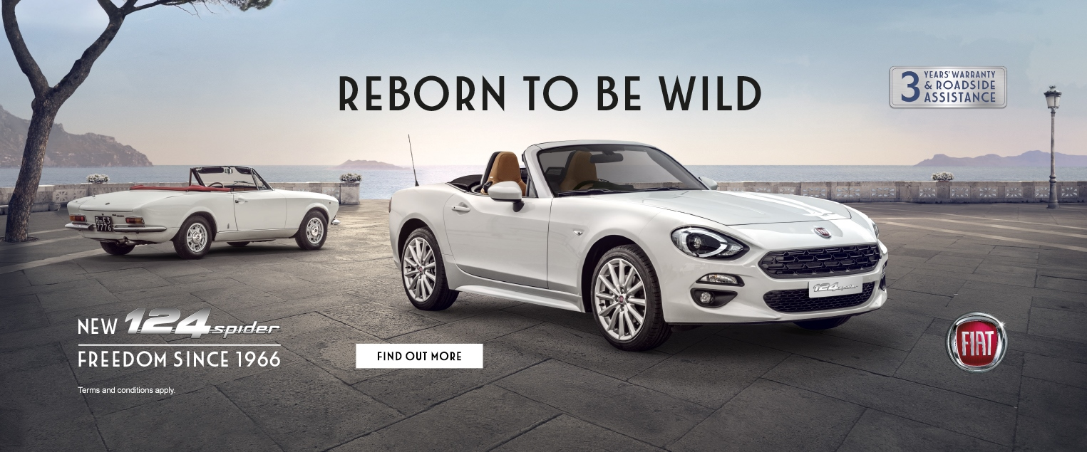 New Fiat 124 Spider Hull East Yorkshire
